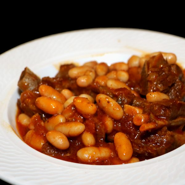 Goat and beans